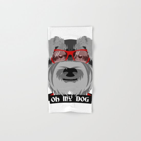 Oh My Dog Hand & Bath Towel