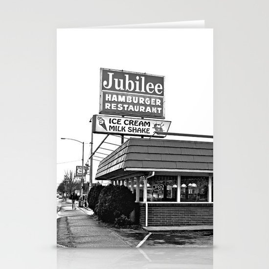 Jubilee Hamburger Restaurant Stationery Cards