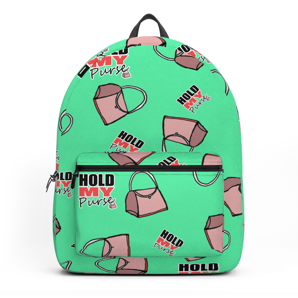 Hold My Purse II Backpack by shauniamckenzie (BKP11848574) photo