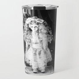 Annabell (Black &White) Travel Mug