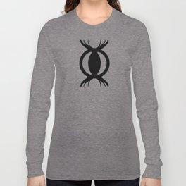Goetic Symbol-Black Long Sleeve T-shirt
