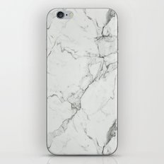 White Marble Texture. iPhone & iPod Skin