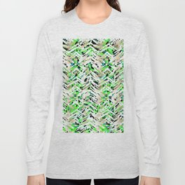 chalky skin light with green Long Sleeve T-shirt