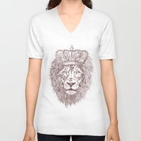 pride V-neck T-shirts featuring pride by Paulo Valdecantos