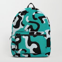 Retro Playful Cats Pattern Backpack