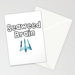 seaweed brain Stationery Cards