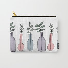 Bottled Plants Trio Carry-All Pouch