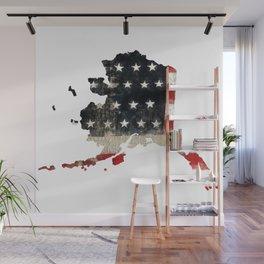 ALASKA FLAG Wall Mural