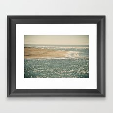 View from Bolinas Framed Art Print