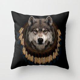 WOLF CLAN Throw Pillow