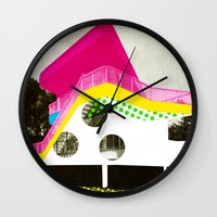 bauhaus Wall Clocks featuring BauHaus 3 by Marko Köppe