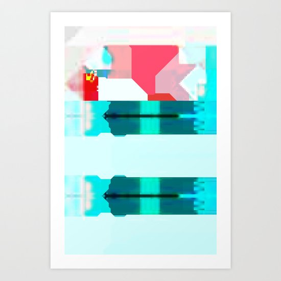 Glazed Art Print