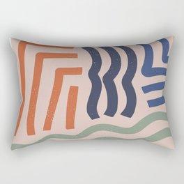 Arid Contour Rectangular Pillow