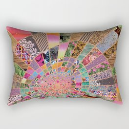 Shitty pink colored Clown Spiderweb Rectangular Pillow