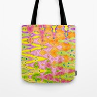 lace Tote Bags featuring Lace by Ingrid Padilla