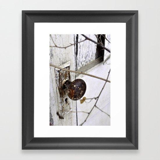 Hidden Door Framed Art Print