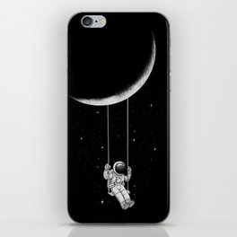 Moon Swing iPhone Skin