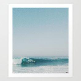 The Ride (Wedge, Newport Beach)  Art Print