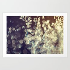 Sunshine and Rain  Art Print