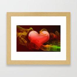 Heartbeat II Framed Art Print