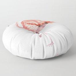 Pink Flamingo Floor Pillow