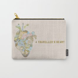 A Traveller's Heart (UK) Carry-All Pouch