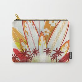 surfboard set  background Carry-All Pouch