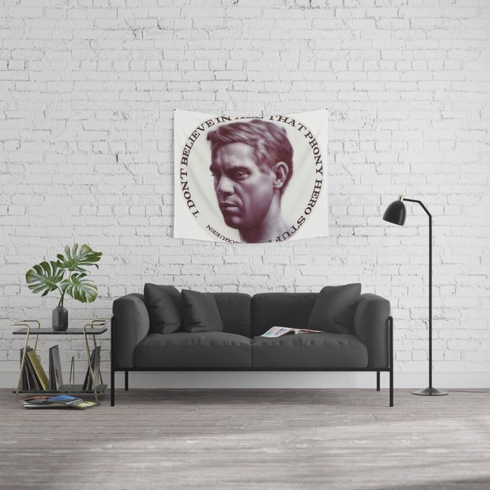 Steve McQueen Wall Tapestry