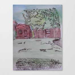 In Meinen Garten Canvas Print