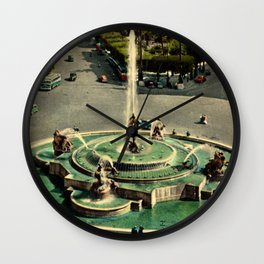 Vintage Bella Roma Wall Clock