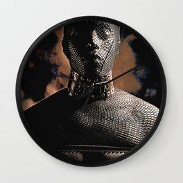 Fetish Style - Male man Masked Wall Clock