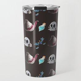 Halloween Witchy Pattern Travel Mug