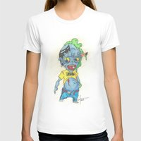 magic the gathering T-shirts featuring Zombie Token - Magic the Gathering by Deadlance