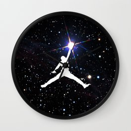 Catching Stars Wall Clock