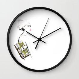 Valentino Clutch Wall Clock