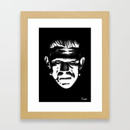 The Walking Nightmare Framed Art Print