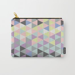 Triangle fun in pastel  Carry-All Pouch