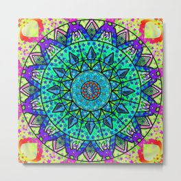 Mandala Series 2 Metal Print