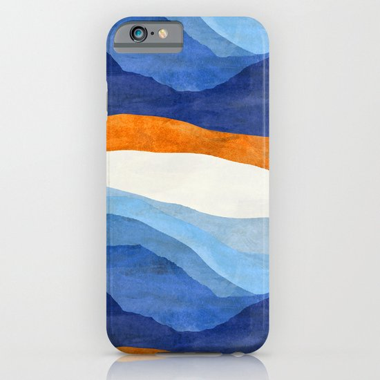 Mountains in the Morning iPhone & iPod Case