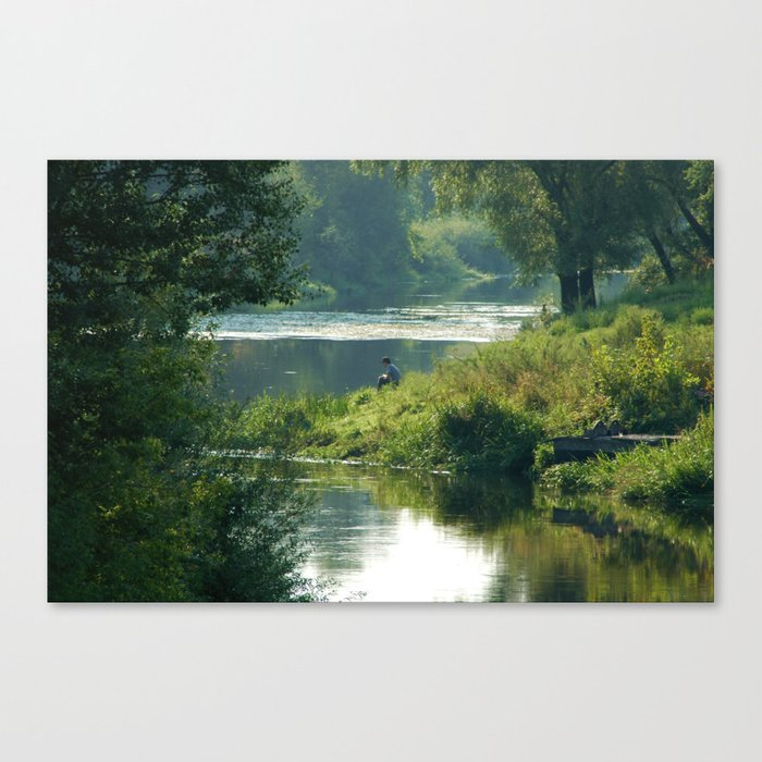 Talking to the Nature Canvas Print