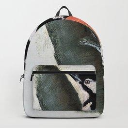 Great Spotted Woodpecker -John James Audubon Backpack