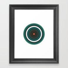 #222 Saturn – Geometry Daily Framed Art Print