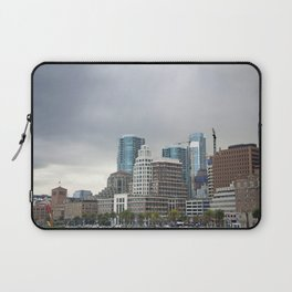 Downtown San Francisco, Changing Skyline Laptop Sleeve