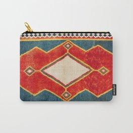 Qashqa'i Gabbeh Fars Southwest Persian Rug Print Carry-All Pouch