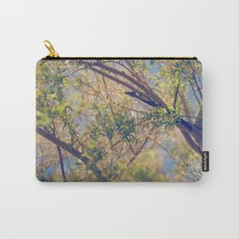 Spring Treetops Carry-All Pouch