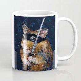 Ninja Hamster Coffee Mug
