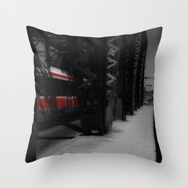 Red Rocket 2 Throw Pillow