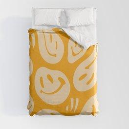 Liquify Honey Duvet Cover