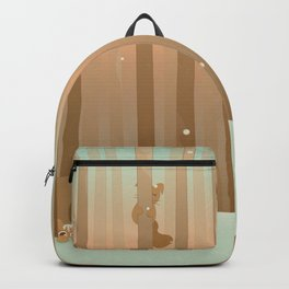 Snow Squirrels Backpack