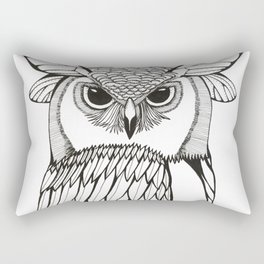 Wings and Eyes Rectangular Pillow